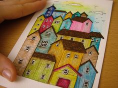The Town by gemmamortlock on Etsy, £13.50
