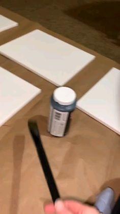 Simple Canvas Paintings, Diy Canvas Art, Bubble Painting, Diy Painting, Cool Art Drawings, Art Drawings Sketches, Painting Techniques, Art Tutorials, Diy Art
