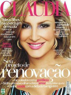 Capa Revista Claudia Fevereiro