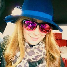 """#falloutfit #hawkers #sunglasses #hat #blue #hair #girl #turin #torino #italy #italia #italiangirl #swag #glamour #style #fashion #instafashion…"""