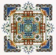 Egypt Garden Cross Stitch Pattern by Chatelaine Designs, Martina Rosenberg   http://europeanxs.com/​cgi-bin/​chat_detail.pl?CD044-