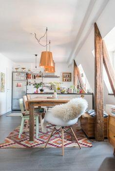 Boho Chic, Interior Design, Bohemian Dining Room, Table Setting ... Shabby Chic Einrichtungsstil London