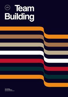 Poster by Xavier Esclusa Trias / EM / Team Building on Behance