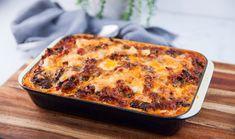 My Recipes, Italian Recipes, Polenta Lasagna, Lasagne Recipes, Food And Drink, Pork, Yummy Food, Beef, Season 8