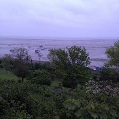 wet grey start to Saturday 10th May across the Thames Estuary , #Leighonsea #essex