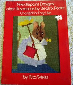 Needlepoint Designs after Illustrations by Beatrix by LoveNYarn, $8.00
