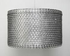 diy ideen wohnideen bastelideen goldpapier aufziehen lampenschirm