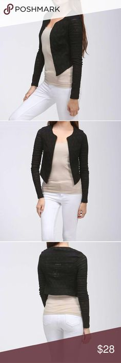Black Jacket Super cute black jacket. Jackets & Coats Blazers
