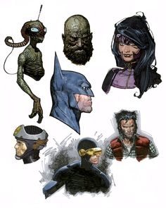 SKETCHES / COMMISSIONS � TRAVIS CHAREST ART