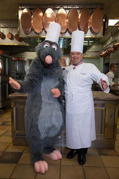 Ratatouille-Themed Restaurant in Paris