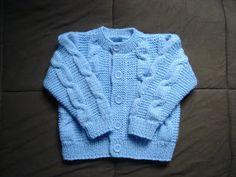 .........Oficina da Regina.......: casaco de trico criancas 3 anos COM RECEITA