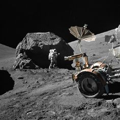 Space Travel / Apollo Program of NASA (USA): Apollo 17 launched on 7.12.1972, landed (earth) 19.12.; (the astronauts E.Cernan, R.Evans & H.Schmitt landed at Taurus Littrow landing site on the moon, 11.12.1972;final landing in Apol.series)