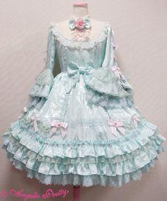 バラのお嬢様Dress