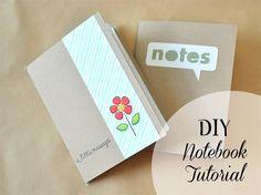 DeNami Photo Tutorial: DIY Notebook