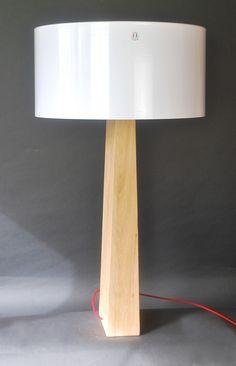 """Lampe """"TOTEM"""" n°006 25x12x118 h."""
