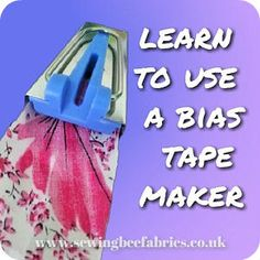 How to make your own bias binding