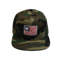 Wu-Tang Brand Limited - America Snapback Men's Hat, Camo