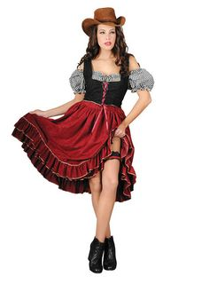 Saloon Sally Costume