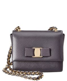 65759d5265 Salvatore Ferragamo Ginny Mini Leather Flap Bag  719 Bago