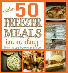 50 freezer meals in a day.