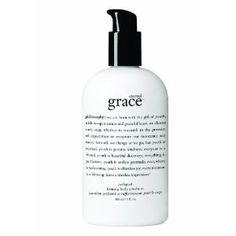 "Philosophy ""Amazing Grace"" lotion. The best!"