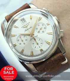 #longines #longineswatches Retro Watches, Antique Watches, Vintage Watches, Cool Watches, Watches For Men, Longines Watch Men, Breitling Watches, Luxury Watch Brands, Omega Seamaster