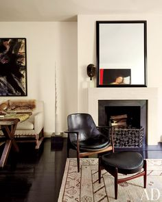Hairstylist Guido Palau's chic Manhattan apartment.