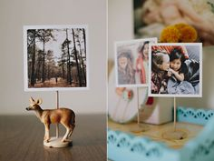 DIY Super Simple Photo Stand || Ashley Ann Photography, Under the Sycamore