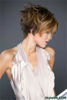 BeautiIful layered hairstyles for short hair -StyleSN