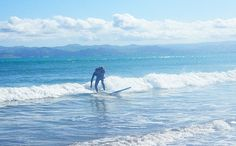 Father & Son Surf See The Sun, Father And Son, Playground, New Zealand, Surfing, Paradise, Waves, City, World