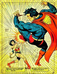BOOM! Superman vs. Wonder Woman by Gerry Conway & José Luis García-López, 1978.