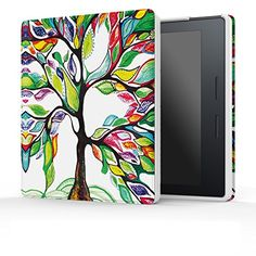 MoKo Case for Kindle Oasis - Ultra Slim Lightweight Smart-shell Stand Cover with Auto Wake / Sleep for Amazon New Kindle Oasis Case (2016 Released), Lucky Tree ** See this great product.