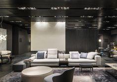 Yang seating system, Rodolfo Dordoni Design