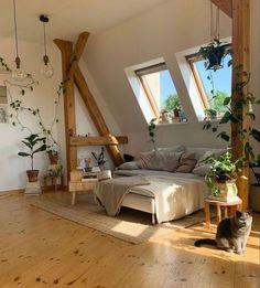 Room Ideas Bedroom, Bedroom Decor, Decor Room, Bedroom Inspo, Bohemian Room Decor, Wood Bedroom, Bedroom Themes, Teen Bedroom, Korean Bedroom Ideas
