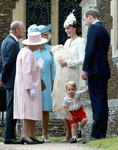 Christening Princess Charlotte