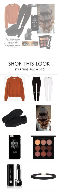 """Fall Has Arrived"" by wherewereyou ❤ liked on Polyvore featuring Toast, Vans, MAC Cosmetics, Marc Jacobs, Humble Chic and Younique"