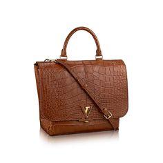 Ein Weihnachtsgeschenk für Damen - Volta Mattes Krokodilleder Handtaschen   LOUIS VUITTON