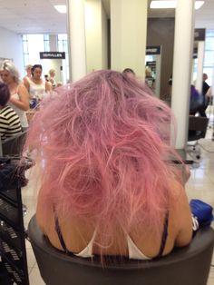 Fun mermaid hair!