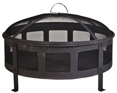 the portable fire pit makes so much sense..and this one is a nice size and depth