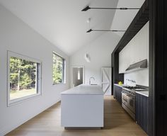 Architect Visit: Aging in Place in the Berkshires, Modern Barn Edition