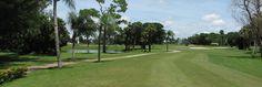 Poinciana Golf Course in South Florida