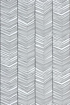 Herringbone | Papier peint graphique | Autres papiers peints | Papier peint des années 70: