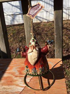 """2002 Jim Shore Santa Christmas Ornament Heartland Creek Enesco 5 1/2""""    eBay"""