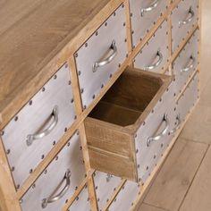 Amritsar Reclaimed Wood 14-drawer Dresser