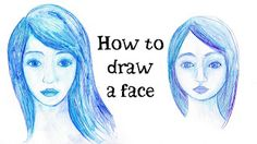 Scraps of Darkness and Scraps of Elegance: How to Draw A Face tutorial by…