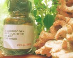 Acido Glicolico al 30% x 30cc. Para la realizacion de Peeling antiage, manchas, estrías. $80