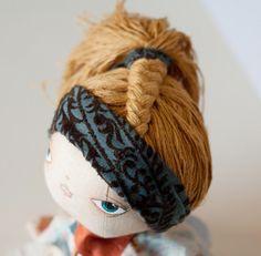 Art doll. $125.00, via Etsy.
