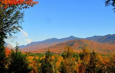 Franconia Notch - from North Woodstock NH
