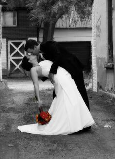 Not sure I can bend like this, but I def want a wedding picture of me being dipped & kissed!!!