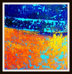 Tiny Spark - Jon Lander - copyright 2014 - abstract photography - another photo I wish I had painted